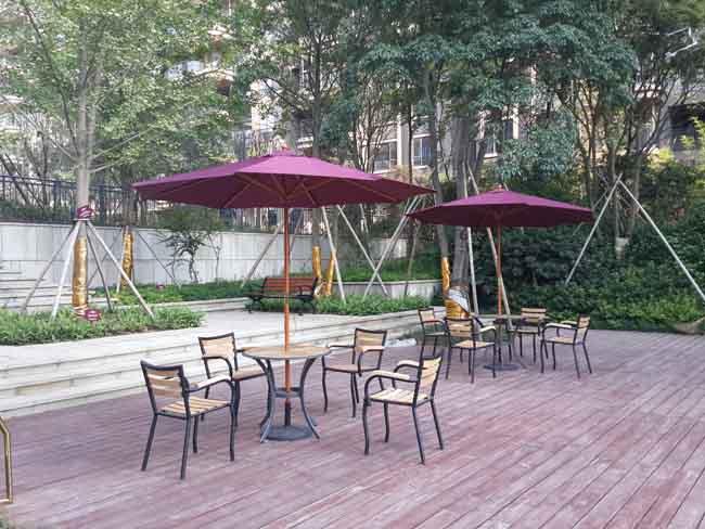 长沙名家翡翠花园新万博手机版桌椅案例
