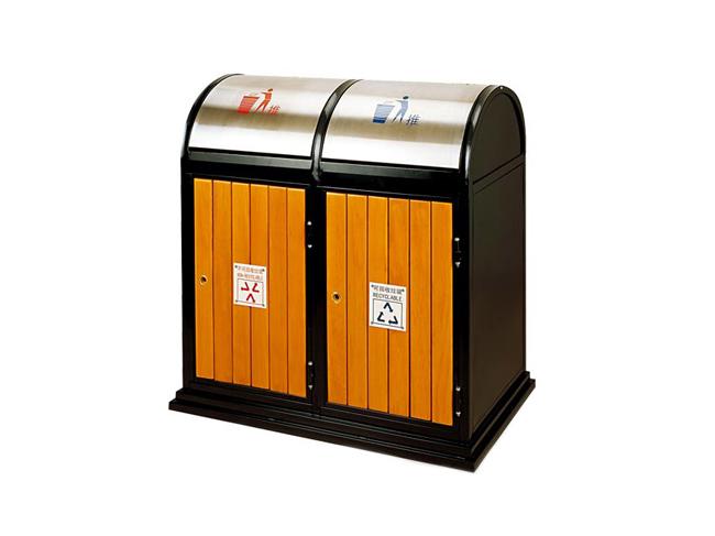 半圆顶分类垃圾桶_长沙多威体育用品有限公司