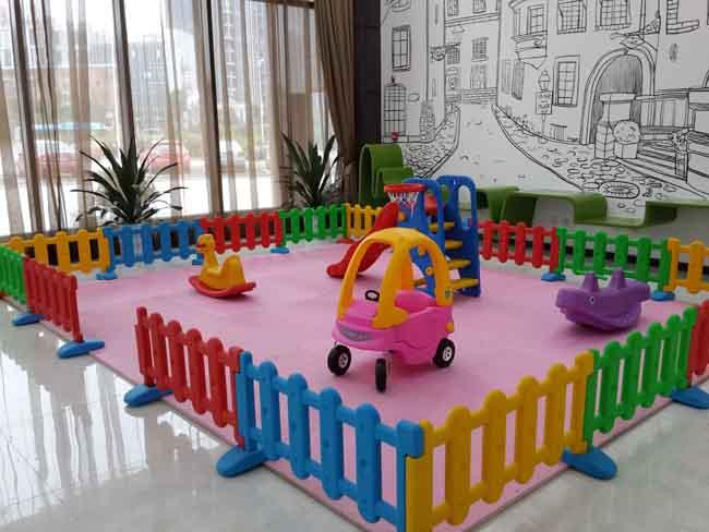 长沙玛丽的花园儿童游乐设施实例