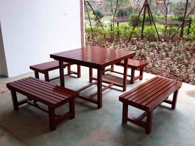 长沙海德公园新万博手机版桌椅实例