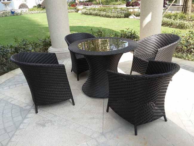 长沙中房瑞致国际藤椅安装实例