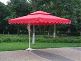红色单边伞