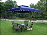 蓝色单边伞