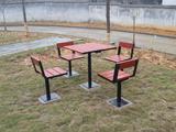 防腐木新万博手机版休闲桌椅