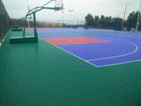 悬浮地板篮球场